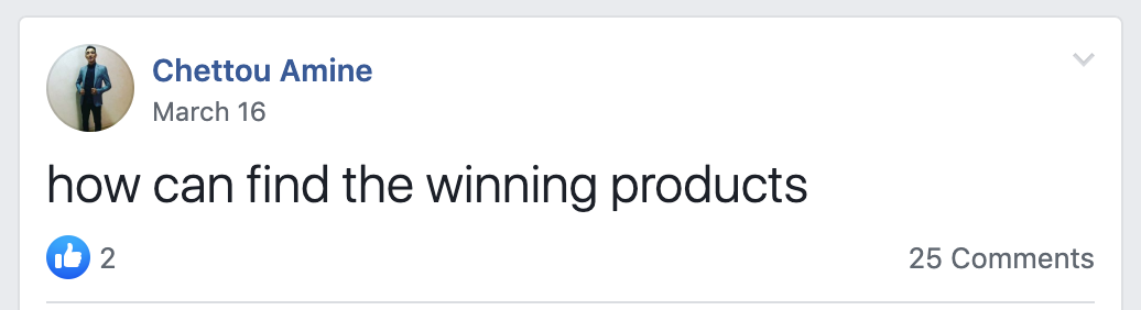 winning products